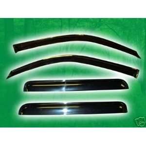 Window Visor Vent Shade   Chevy Trailblazer (NOT EXT, Regular Wheel