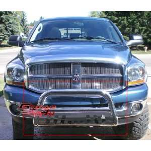 94 01 Dodge Ram 1500 Bull Bar Polished Stainless Steel