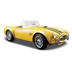 1965 Shelby Cobra 427 Yellow 124 Diecast Model Car Toys