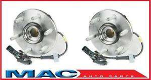 2000 2006 Yukon & Denali TWO Front Hub Wheel Bearing