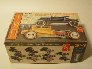 VINTAGE AMT 3 in 1 1925 Ford T Double Kit * Mint Box