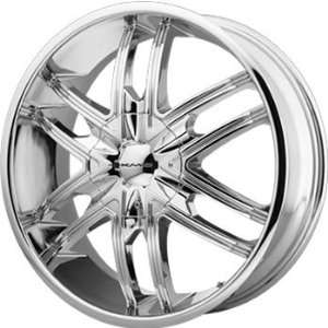 KMC KM678 20x8.5 Chrome Wheel / Rim 6x135 & 6x5.5 with a 38mm Offset