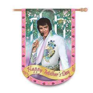 Elvis Presley Happy Mothers Day Flag Elvis Home Decor by