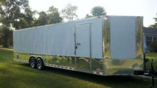 28 enclosed ATV cargo motorcycle trailer car hauler NEW