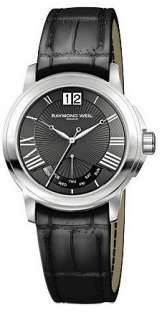 NEW AUTHENTIC RAYMOND WEIL TRADITION QUARTZ RETROGRADE WATCH 9576 STC
