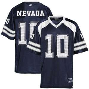 Nevada Wolf Pack #10 Youth Navy Blue Game Day Jersey