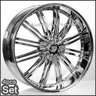 22inch Wheels Rims Chevy Tahoe Escalade Ford Ram