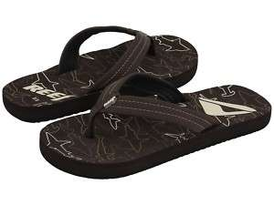 REEF LITTLE AHI KIDS/GIRLS SANDALS BROWN #2345