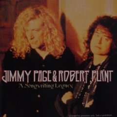 Jimmy Page & Robert Plant A Song Writing Legacy OOP CD