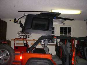 Hard Top Hoist for Jeep Wrangler JK 4 door, Unlimited 07 12