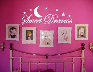 Sweet Dreams #2   Wall Quote Decals Stickers