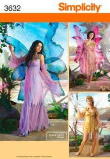 SIMPLICITY SEWING PATTERN 3632 FAIRY COSTUMES 14 20