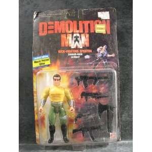 Demolition Man Kick Fighting Spartan Action Figure Toys & Games