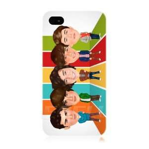 Ecell   ONE DIRECTION 1D CARTOON CARICATURE PROTECTIVE BACK CASE FOR