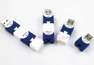 PNY 4GB 4G USB Flash Pen Drive Disk Attache Cute BRICK