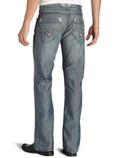 Levis Silver Tab Shiner WIPE OUT Boot Cut Jeans 0005
