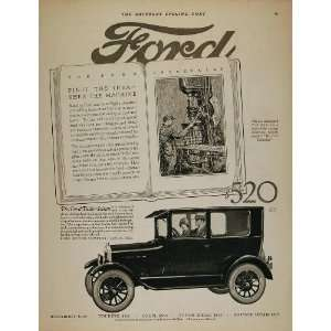 1926 Ad Ford Model T Tudor Sedan Assembly Line Machine