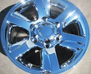 FACTORY TOYOTA SEQUOIA TUNDRA TACOMA OEM CHROME WHEELS RIMS 4RUNNER