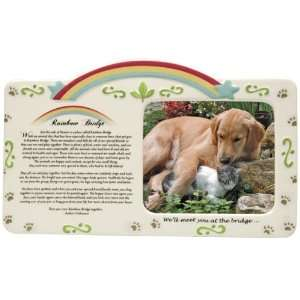 Rainbow Bridge Porcelain Pet Frame