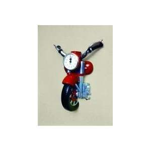 Creative Motion Industries 12825 Motorcycle Clock