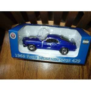 124 Scale 1969 Ford Mustang Boss 429 Die Cast Everything