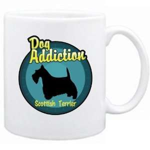 New  Dog Addiction  Scottish Terrier  Mug Dog
