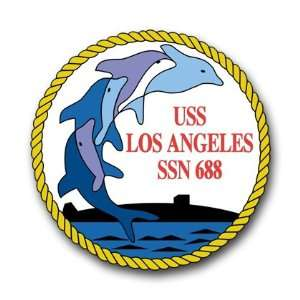 US Navy Ship USS Los Angeles SSN 668 Decal Sticker 3.8