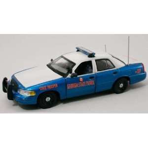 First Response 1/43 Georgia State Police Ford Crown Vic Toys & Games