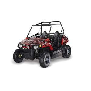 Silver Star AMR Racing Polaris Rzr170 UTV Side X Side, Graphic Decal