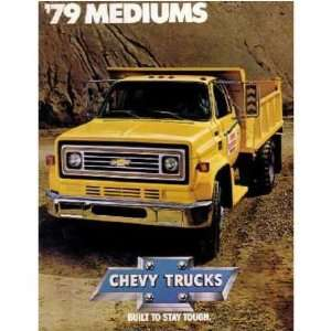 1979 CHEVROLET MEDIUM DUTY TRUCK Sales Brochure Book Automotive
