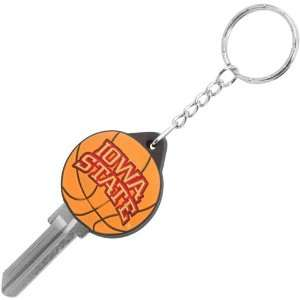 NCAA Iowa State Cyclones Basketball Key Blank Keychain