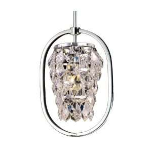 Dale Tiffany GH80292 Tooley Mini Pendant Light, Polished