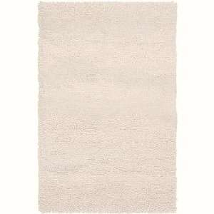2 x 3 Berme Off White Wool Shag Area Throw Rug