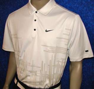 XL 2011 Nike Tiger Woods No Flt 1972 Golf Polo Shirt WH
