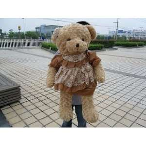 christmas gift teddy bear plush toy big size 60cm 80cm