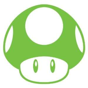 Super Mario Brothers Mushroom Decal Nitrous Kart Sticker