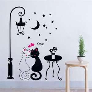 Easy Instant Decoration Wall Sticker Decal   two sweet