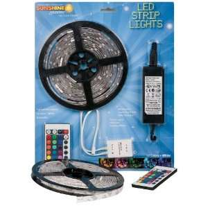 Sunshine Systems RGB LED Strip Light Kit Reel Multicolored