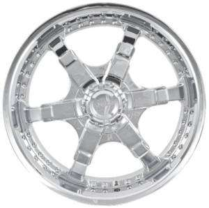 NEW PULSE STYLE P4 CHROME 20 WHEEL/RIM SET 6x135/5.5