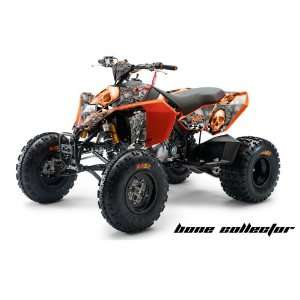 AMR Racing KTM 450, 525 and 505 ATV Quad, Graphic Kit   Bone Collector