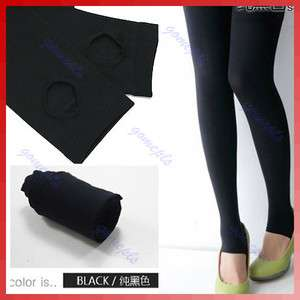 Women Opaque Stirrup Legging Tights Warm Stretch Winter Pants