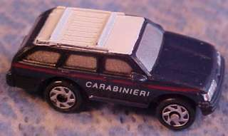 Micro Machines 1986 91 Ford Taurus Station Wagon Navy Blue Carabinieri