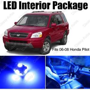 Honda PILOT BLUE Interior LED Package (10 Pieces