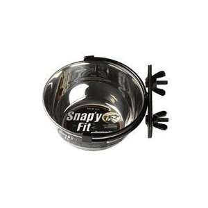 Best Quality Snap Y Fit Dog Bowl / Stainless Steel Size