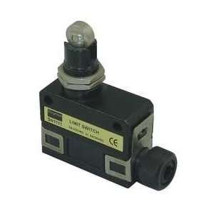 Dayton 13F513 Mini Limit Switch, SPDT, Vert, Roller