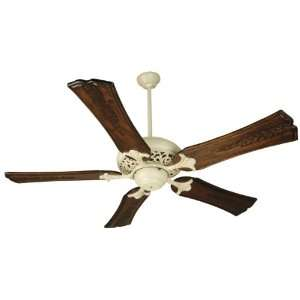 Options Tuscan Indoor Ceiling Fan with Bowl Light Kit and Custom Blade