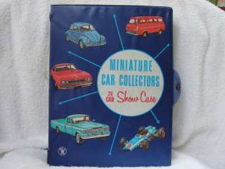 MATCHBOX MINIATURE CAR COLLECTORS 24 CAR SHOW CASE