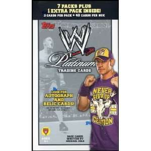 WWE Platinum Trading Cards Value Box