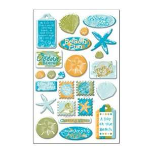Beach Days Epoxy Stickers Arts, Crafts & Sewing