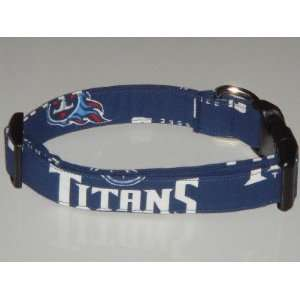 NFL Tennessee Titans Football Dog Collar X Large 1